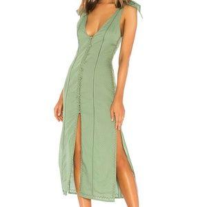 Tularosa Birdie Dress Mint Green Size L
